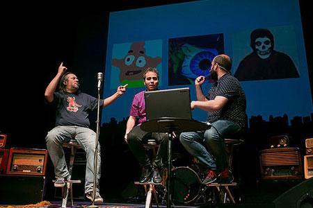 Primera Persona 2015. Los Hermanos Podcast i Daniel Ausente
