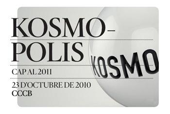Imatge gràfica Jornada especial Kosmopolis 2010