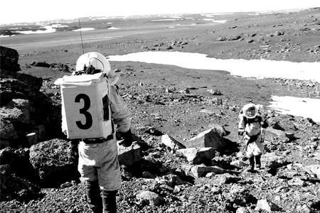 Viñetas marcianas