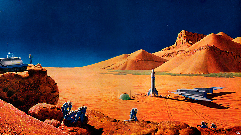 1956 ... exploration of Mars   CC BY-NC-SA 2.0