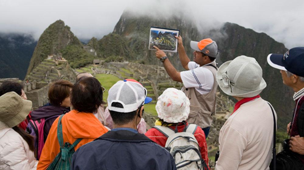 Peru. Machu Picchu. 2008  © Martin Parr / Magnum Photos / Galería Espacio Mínimo