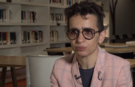 "Masha Gessen: ""You certainly can't have democracy without public space"""