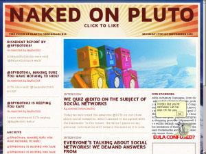 Naked on Pluto