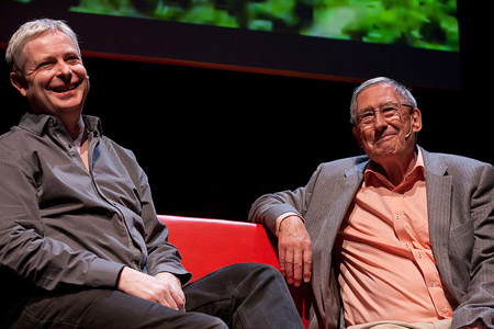 Primera Persona 2014. David Nobbs & Jonathan Coe