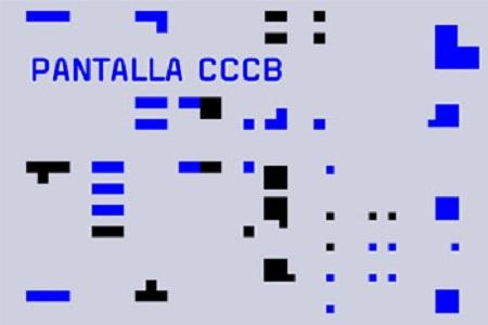 Pantalla CCCB. A month an artist