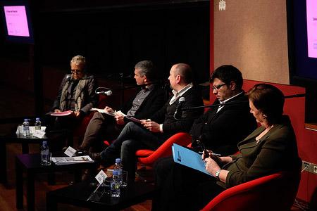 Debate with  Albert Civit, Juan Carlos Iglesias, Maria Serrat and Josep Ferrando: The future of Paral·lel. Perspectives of the future of Paral·lel Avenue