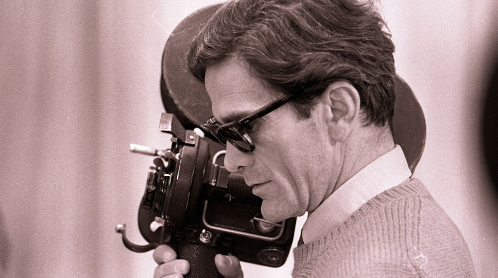 Pier Paolo Pasolini on the set of Teorema ©Angelo Novi / Cineteca di Bologna, 1968
