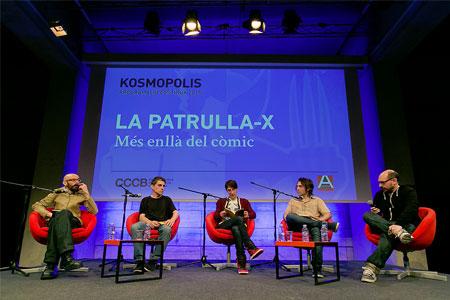 Jordi Costa, Eloy Fernández Porta, Albert Fernández i Enric Cucurella
