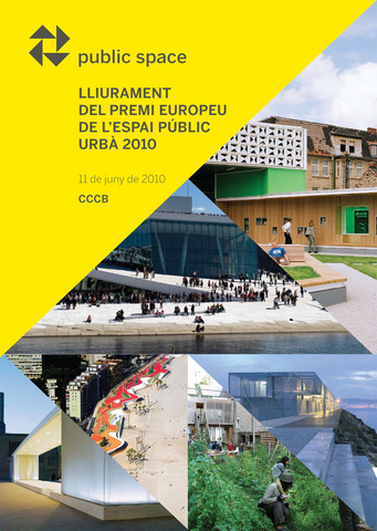 Award ceremony of the European Prize for Urban Public Space 2010
