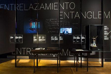 Reportaje exposición «Cuántica»