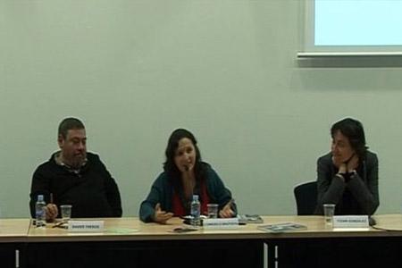 Consuelo Bautista, Itziar González i Xavier Theros