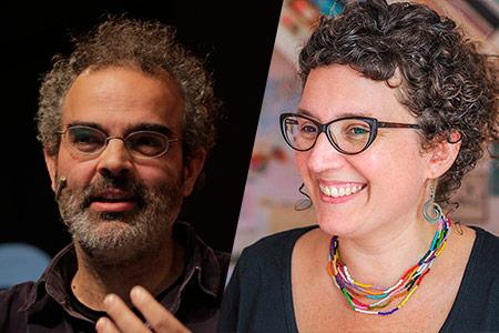 Gonçalo Tavares y Tina Vallès