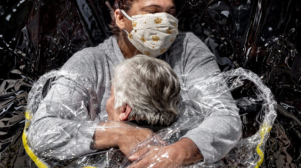 World Press Photo of the Year Nominee, The First Embrace, Mads Nissen, Politiken/Panos Pictures