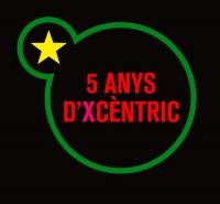 Logo 5 anys d'Xcèntric