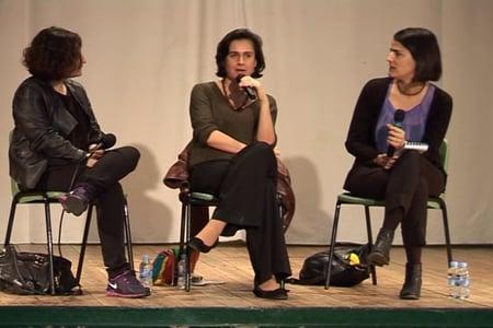 Lydia Cacho, Lilian Thuram, Kamila Shamsie y Pankaj Mishra